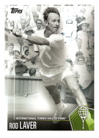 2019 Topps Tennis Hall of Fame 31 Rod Laver
