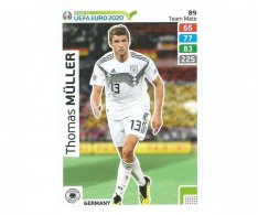 Fotbalová kartička Panini Road To Euro 2020 – Team Mate - Thomas Muller - 89