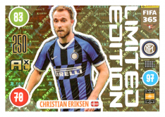 Panini Adrenalyn XL FIFA 365 2021 Limited Edition Christian Eriksen Inter Milan