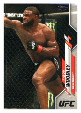 2020 Topps UFC 41 Tyron Woodley - Welterweight
