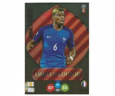 Fotbalová kartička Panini Adrenalynl XL World Cup Russia 2018 Limited Edition Paul Pogba