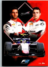 2021 Topps Formule 1 Turbo Attax 118 Team Card Charouz Racing System