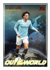 2018-19 Panini Donruss Soccer Dominator OW-3 Leroy Sane - Manchester City