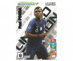 Fotbalová kartička Panini Road To Euro 2020 – Limited Edition -  France - Paul Pogba XXL