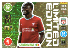 Panini Adrenalyn XL FIFA 365 2021 Limited Edition Sadio Mane Liverpool