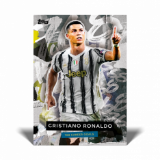 Fotbalová kartička Topps Now Cristiano Ronaldo – the Greatest Goalscorer of all-time Juventus
