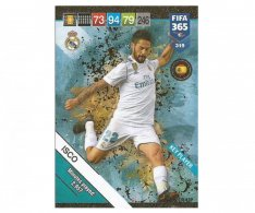 Fotbalová kartička Panini FIFA 365 – 2019 Key Player 319 ISCO Real Madrid CF