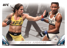 2018 Topps UFC Knockout 73 Jessica Andrade - Strawweight