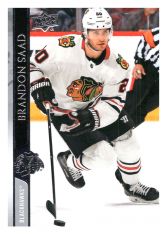 2020-21 UD Series One 42 Brandon Saad - Chicago Blackhawks