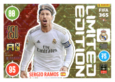 Panini Adrenalyn XL FIFA 365 2021 Limited Edition Sergio amos Real Madrid CF