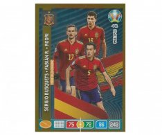 Panini Adrenalyn XL UEFA EURO 2020 Multiple Midfield Engine 441 Busquets Fabian R. Rodri Spain