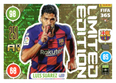 Panini Adrenalyn XL FIFA 365 2021 Limited Edition Luis Suarez FC Barcelona