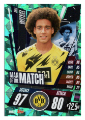 fotbalová kartička Topps Match Attax Champions League 2020-21 Man of the Match MM15 Axel Witsel - Borussia Dortmund