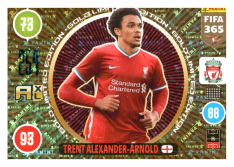 Panini Adrenalyn XL FIFA 365 2021 Gold Limited Edition Trent Alexander-Arnold FC Liverpool