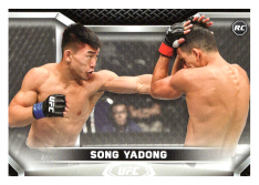 2020 Topps UFC Knockout 54 Song Yadong RC - Featherweight