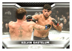 2020 Topps UFC Knockout 48 Kelvin Gastelum - Middleweight