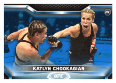 2020 Topps UFC Knockout 7 Katlyn Chookagian RC - Flyweight /75