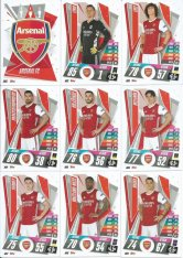 2020-21 Topps Match Attax Champions League Týmový set Arsenal FC