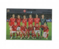 Fotbalová kartička Panini Road To Euro 2020 – Group Winners - Dánsko- UNL9
