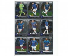 2019-20 Panini Prizm Premier League Týmový set Everton 16 karet