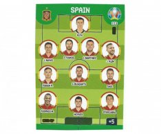 Panini Adrenalyn XL UEFA EURO 2020 Line Up 153 Spain