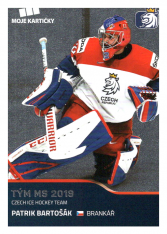 2019-20 Czech Ice Hockey Team  47 Patrik Bartošák