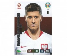 Panini Adrenalyn XL UEFA EURO 2020 Captain 255 Robert Lewandowski Poland