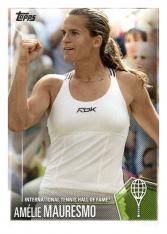 2019 Topps Tennis Hall of Fame 7 Amelie Mauresmo
