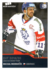 2019-20 Czech Ice Hockey Team  22 Michal Moravčík