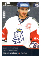 2019-20 Czech Ice Hockey Team 1 Ondřej Beránek