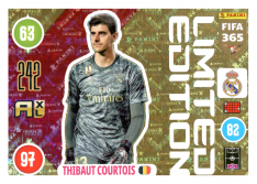 Panini Adrenalyn XL FIFA 365 2021 Limited Edition Thibault Courtois Real Madrid CF