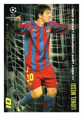 2020 Topps LM Greatest Goals Lionel Messi First UCL Goal