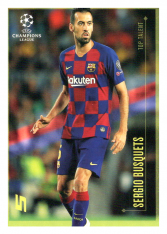 2020 Topps LM Top Talent Sergio Busquets FC Barcelona