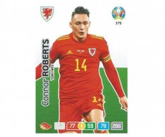 Panini Adrenalyn XL UEFA EURO 2020 Team mate 375 Connor Roberts Wales