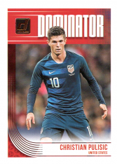 2018-19 Panini Donruss Soccer Dominator D-15 Christian Pulisic - United States
