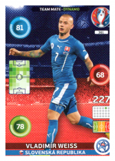 Panini Adrenalyn XL EURO 2016 Key Player 361 Vladimír Weiss Slovensko
