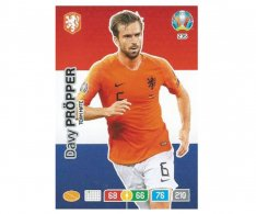 Panini Adrenalyn XL UEFA EURO 2020 Team mate 235 Davy Proper Netherlands
