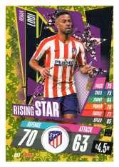fotbalová kartička Topps Match Attax Champions League 2020-21 Rising Star RS3 Renan Lodi - Atlético de Madrid