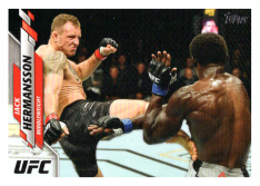 2020 Topps UFC 10 Jack Hermansson - Middleweight