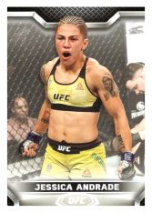 2020 Topps UFC Knockout 61 Jessica Andrade - Strawweight