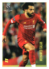 2020 Topps LM Top Talent Mohamed Salah LIverpool FC