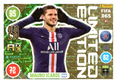 Panini Adrenalyn XL FIFA 365 2021 Limited Edition Mauro Icardi PSG