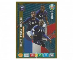 Panini Adrenalyn XL UEFA EURO 2020 Multiple Midfield Engine 442 Kante Pogba Matuidi France