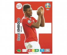 Panini Adrenalyn XL UEFA EURO 2020 Team mate 314 Breel Embolo Switzerland