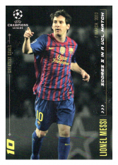2020 Topps LM Greatest Goals Lionel Messi  Scores 5 in a UCL Match FC Barcelona