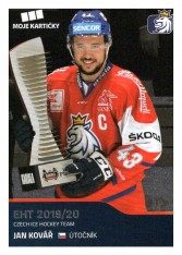 2019-20 Czech Ice Hockey Team  16 Jan Kovář