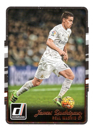 2016-17 Panini Donruss Soccer 141 James Rodriguez - Real Madrid CF