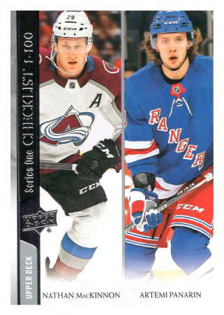 2020-21 UD Series One 199 Nathan MacKinnon/Artemi Panarin CL