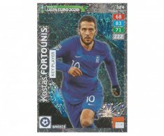 Fotbalová kartička Panini Adrenalyn XL Road to EURO 2020 - Key Player - Kostas Fortounis - 324