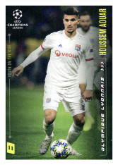 2020 Topps LM Youth of the Rise Houssem Aouar Olypmique Lyon